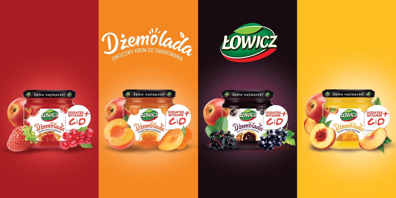 Dżemolada – nowa owocowa przyjemność od Łowicza