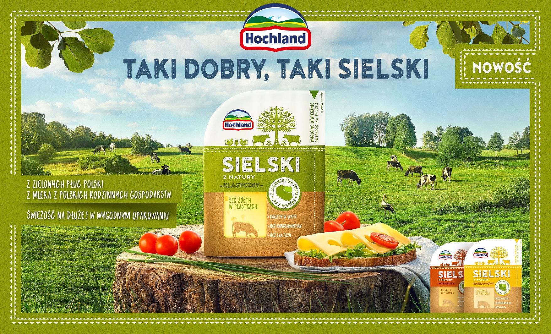 Hochland Sielski – nowe sery żółte w innowacyjnym opakowaniu
