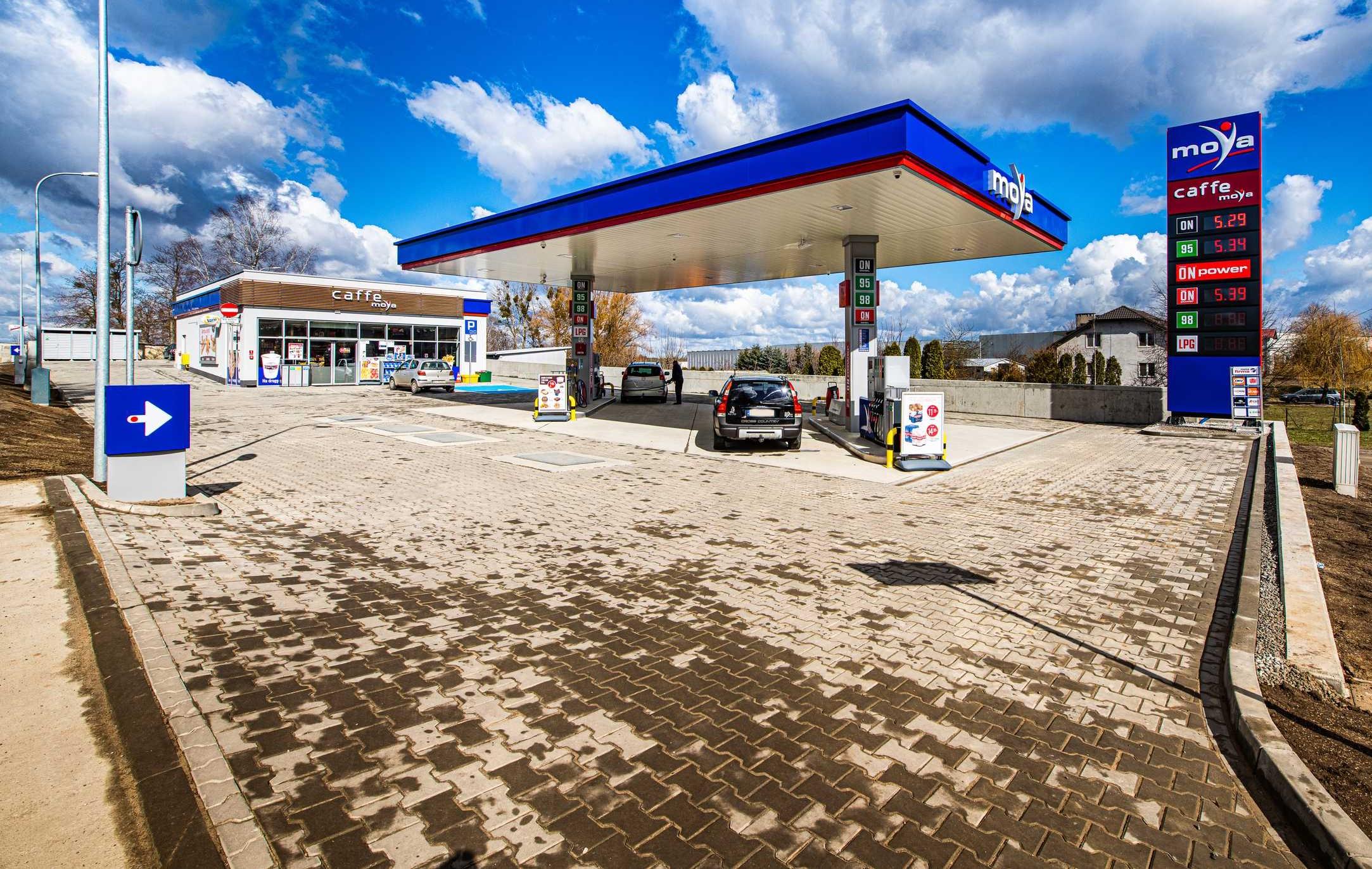 Nowa stacja paliw Moya w Iławie