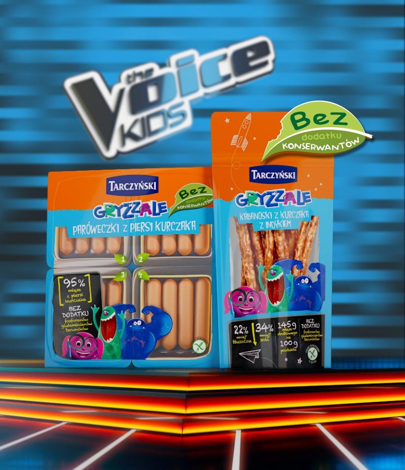 Marka Tarczyński sponsorem The Voice Kids