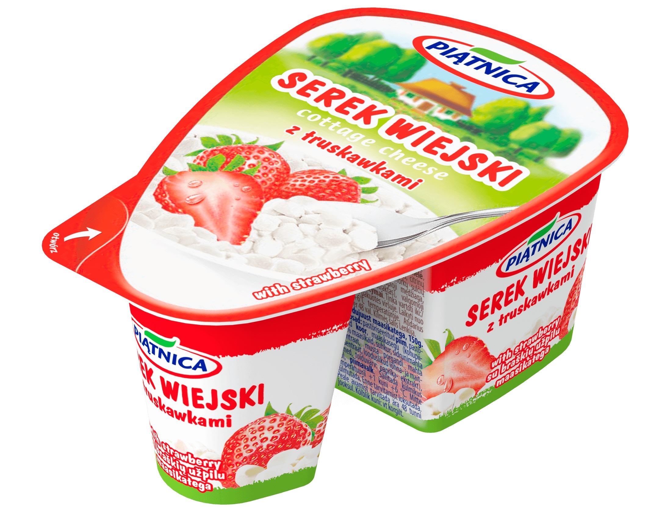Nowa kampania reklamowa serków wiejskich – z Piątnicy, no bo skąd!
