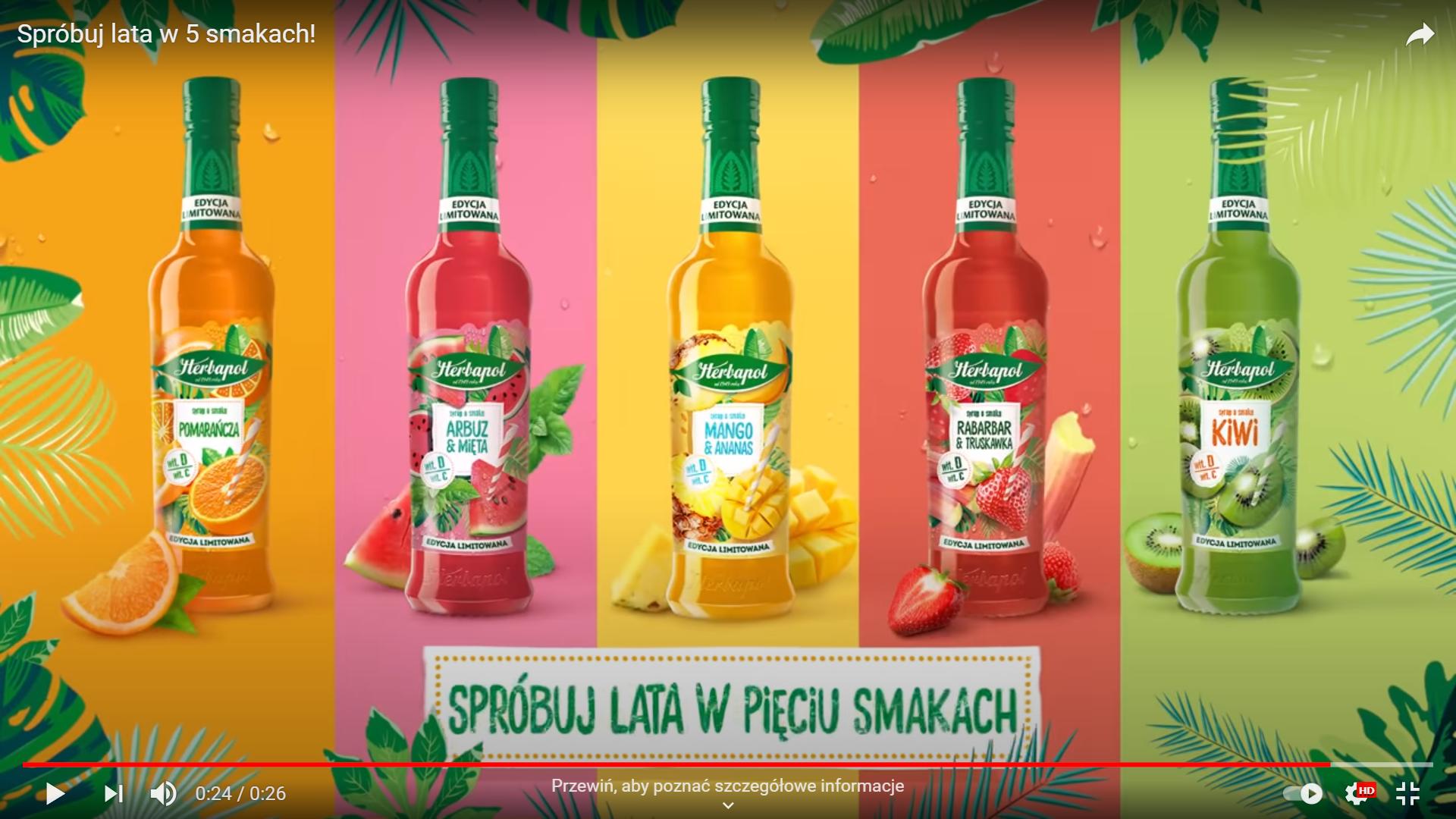 """""""Herbapol-Lublin"""" powraca z limitowaną edycją syropów owocowych"""