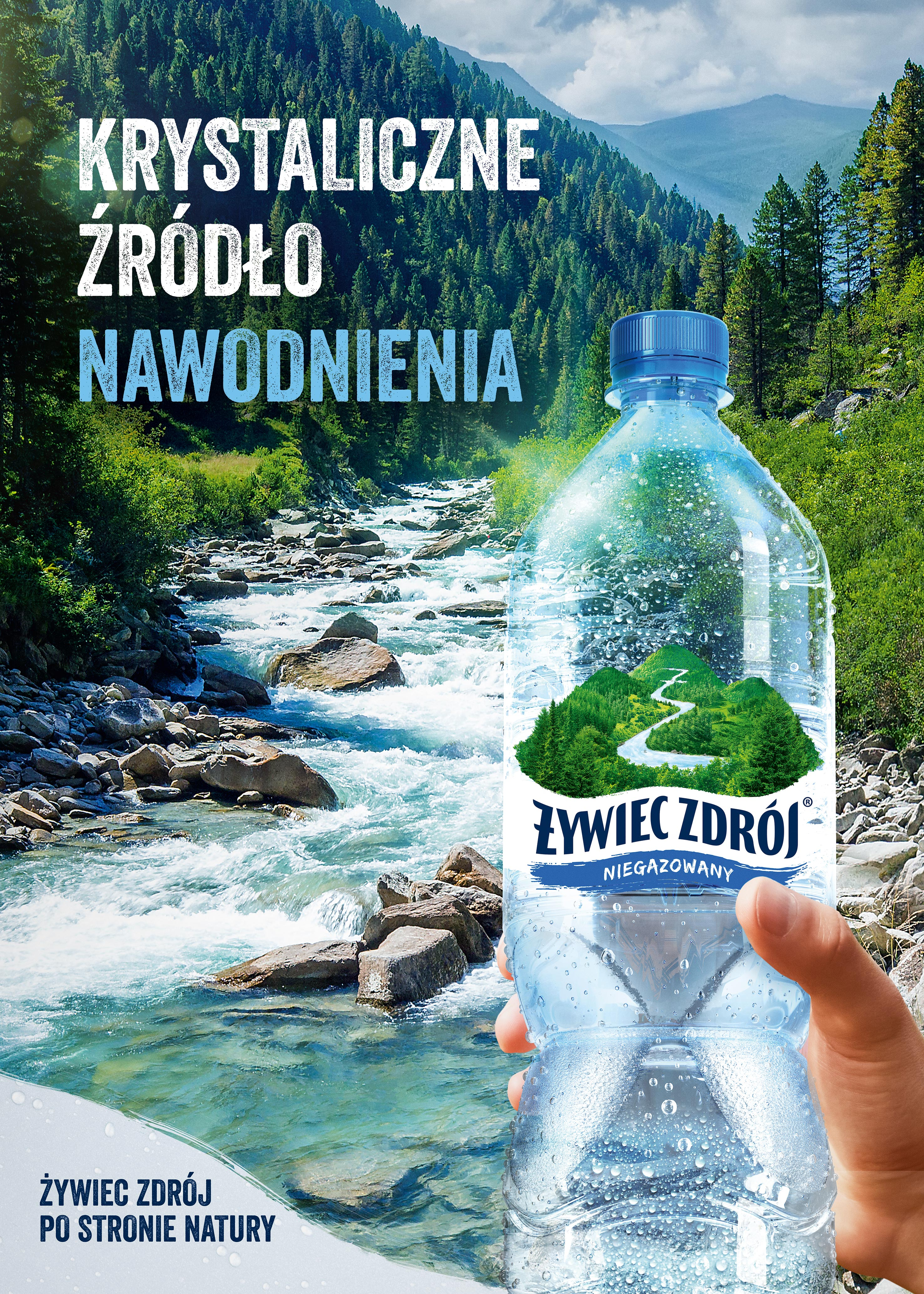 Składamy się z wody – wybierz krystaliczną wodę prosto z górskiego źródła