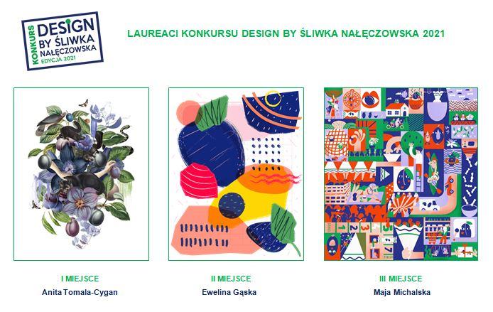 Znamy laureatów konkursu Design by Śliwka Nałęczowska 2021