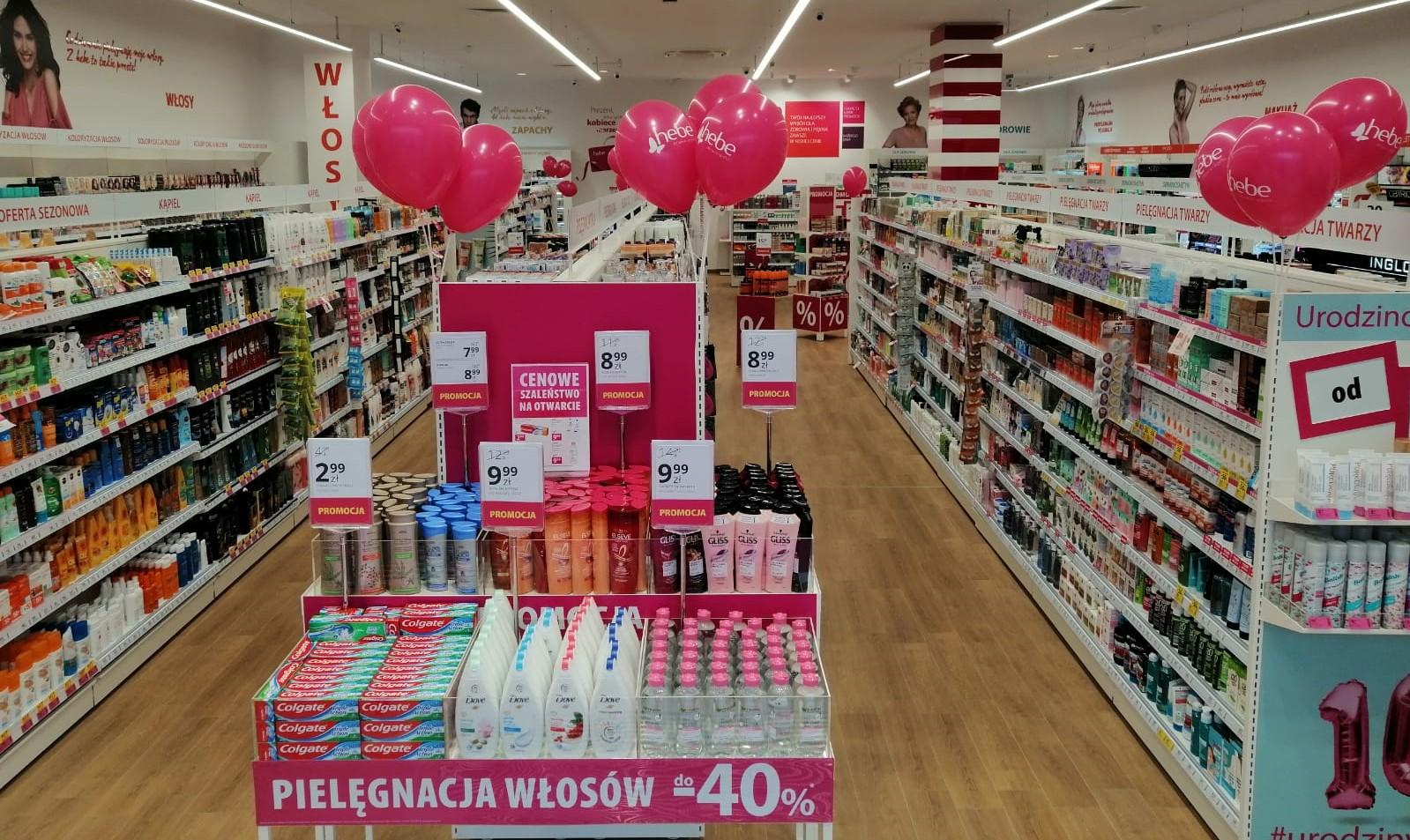 Otwarcie czwartej drogerii Hebe w Lublinie
