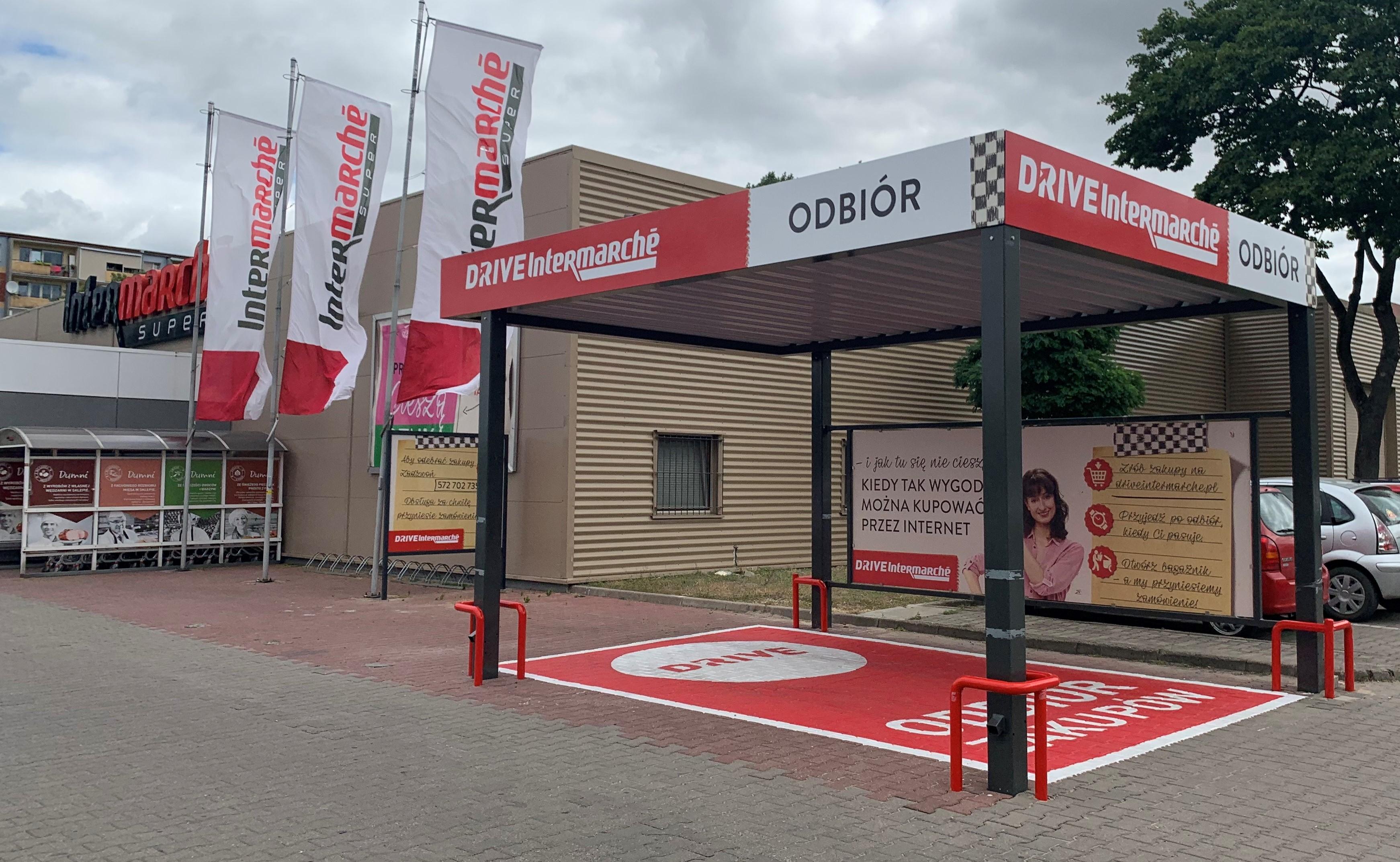 Intermarché Drive w ponad 50 sklepach sieci