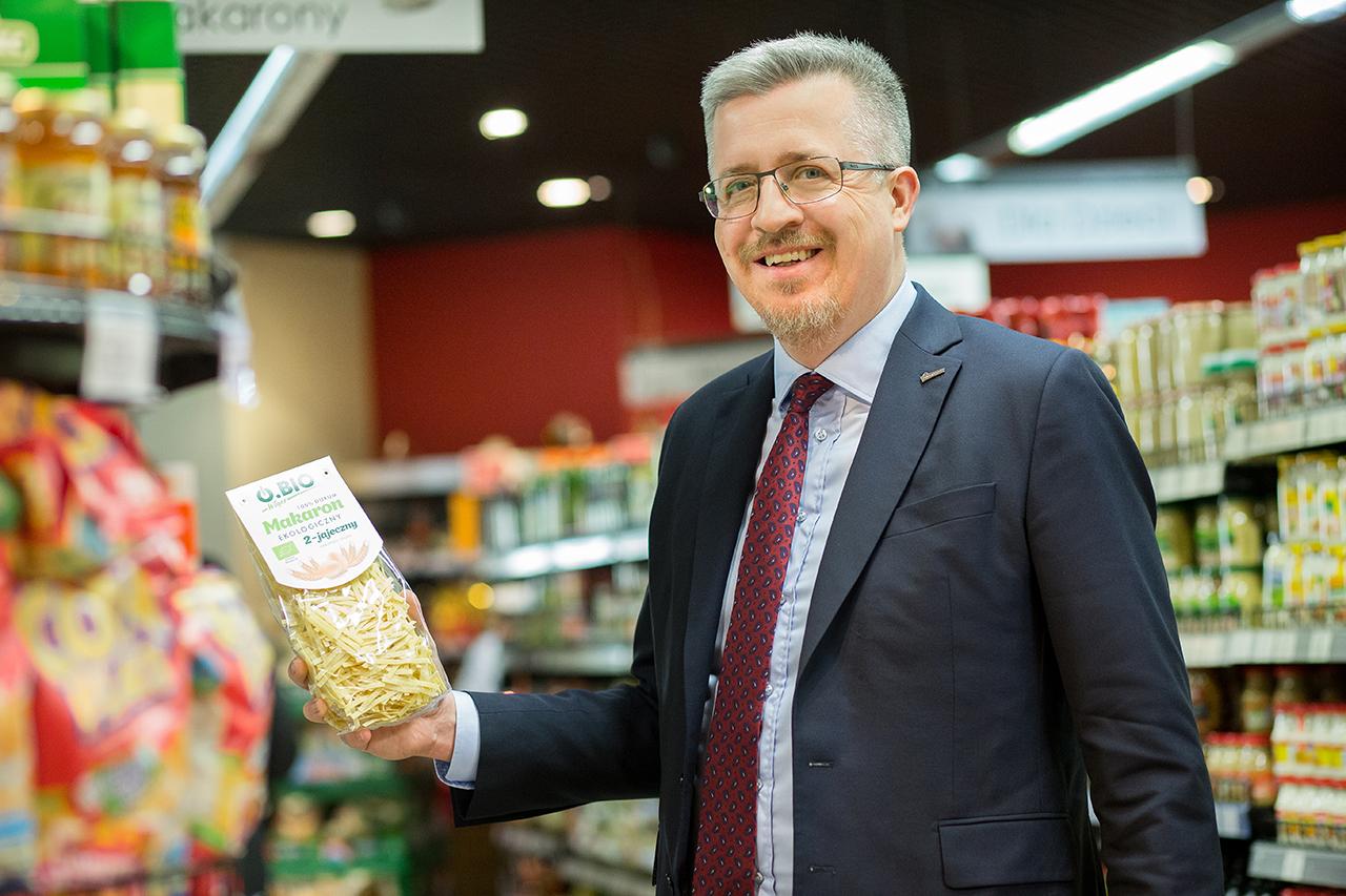 Michał Sadecki odchodzi z Polskiej Grupy Supermarketów