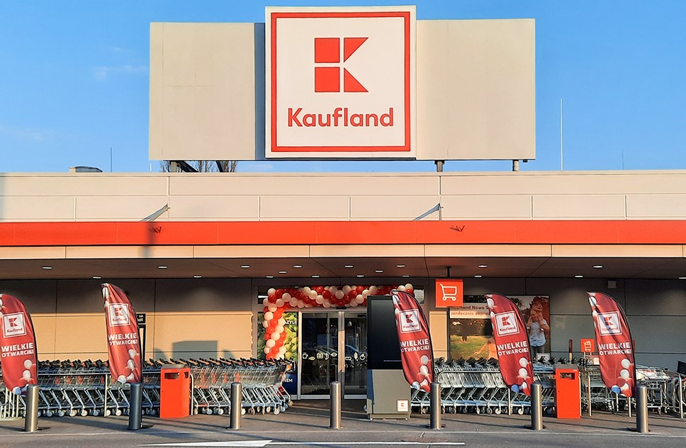 Kaufland kontynuuje modernizację sklepów