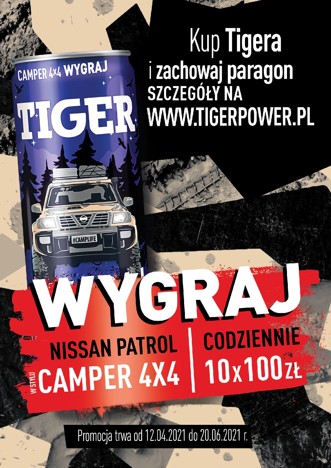 Tiger #Camplife – Nissan Partol na misje specjalne