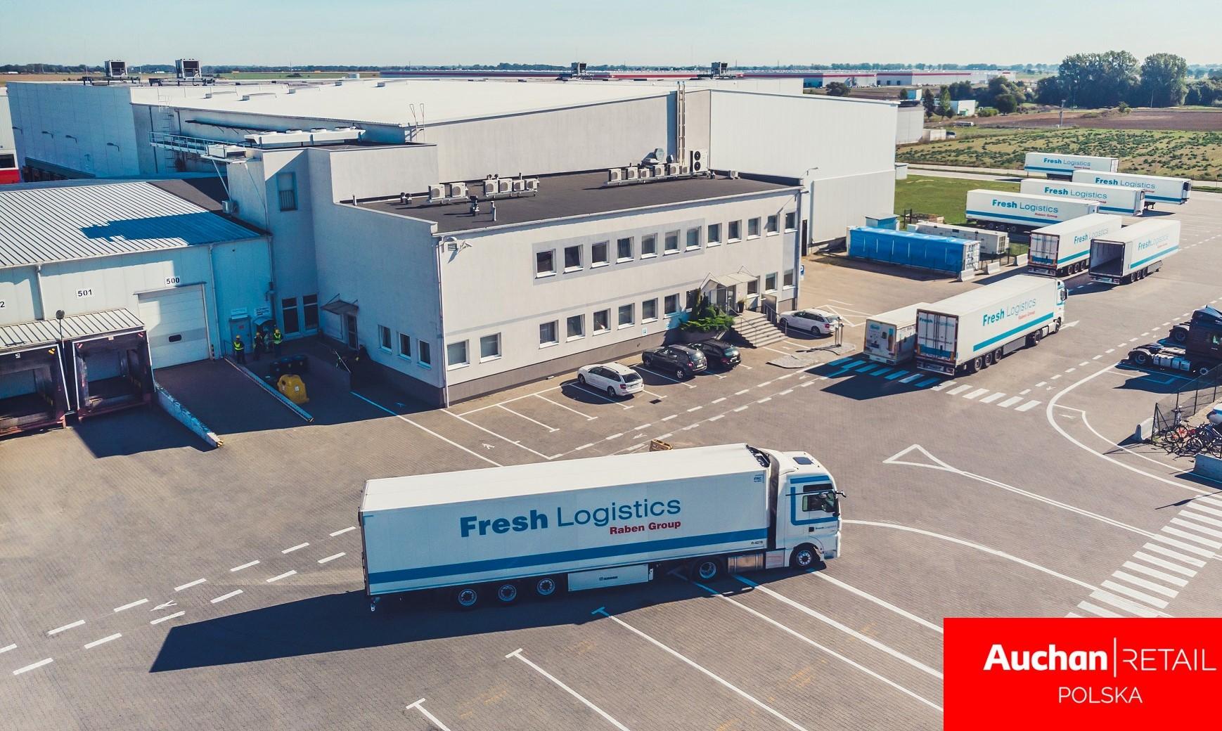 Auchan wdraża nową strategię w zakresie supply chain i logistyki