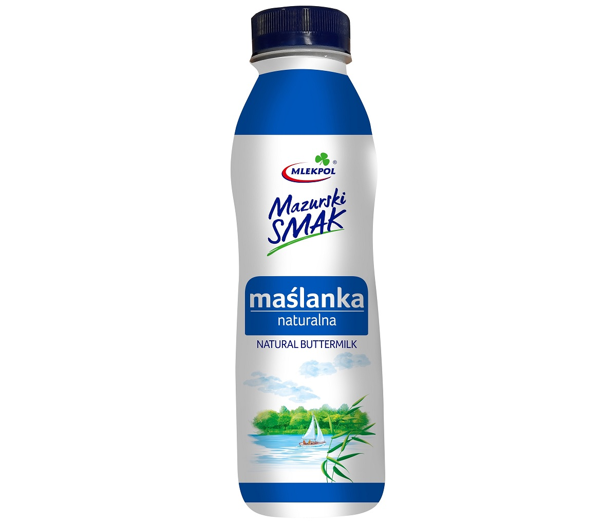 Maślanka naturalna marki Mazurski Smak