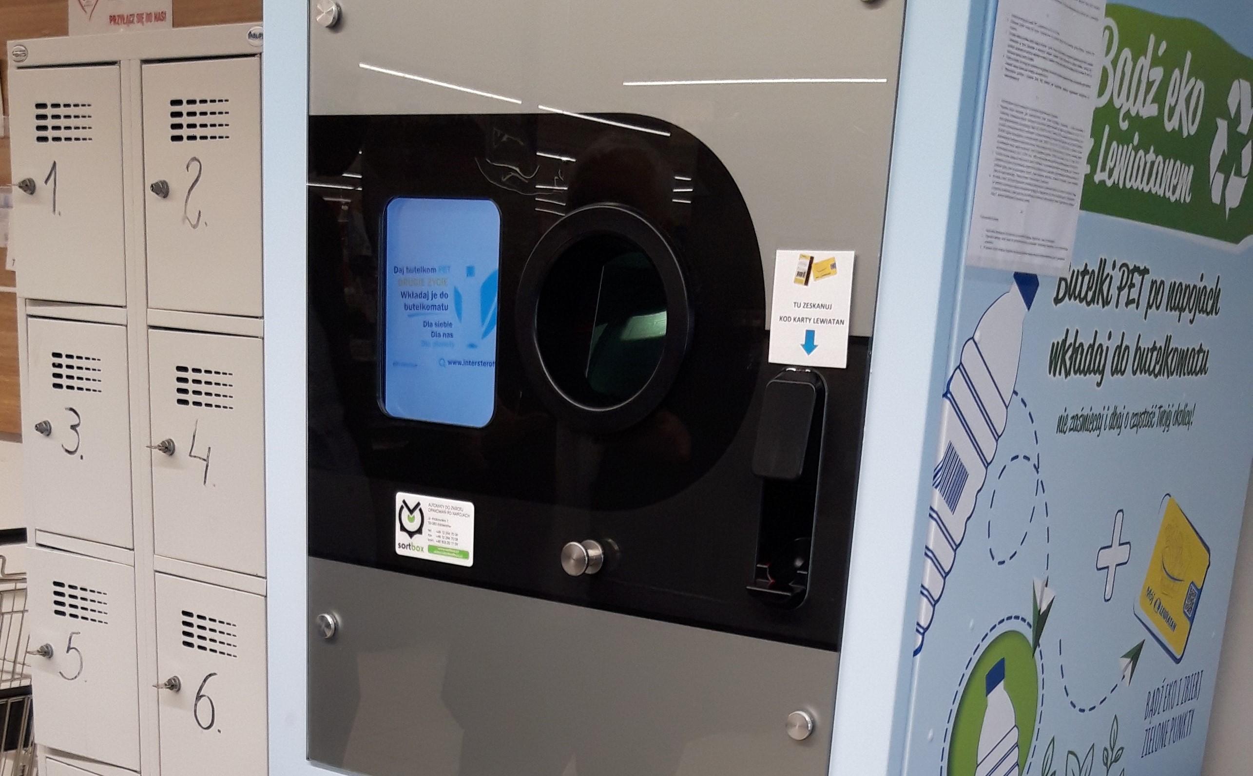 PSH Lewiatan testuje urządzenia do recyklingu butelek PET