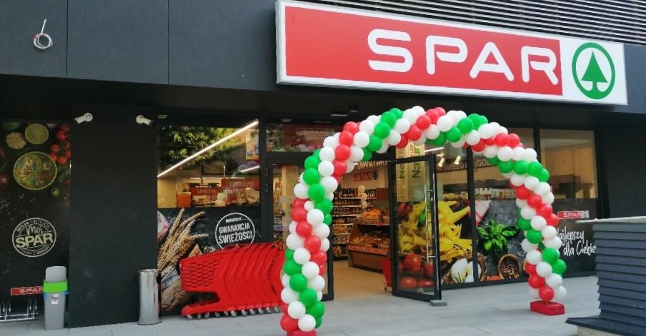 Supermarket w Luboniu zmienił logo na Spar