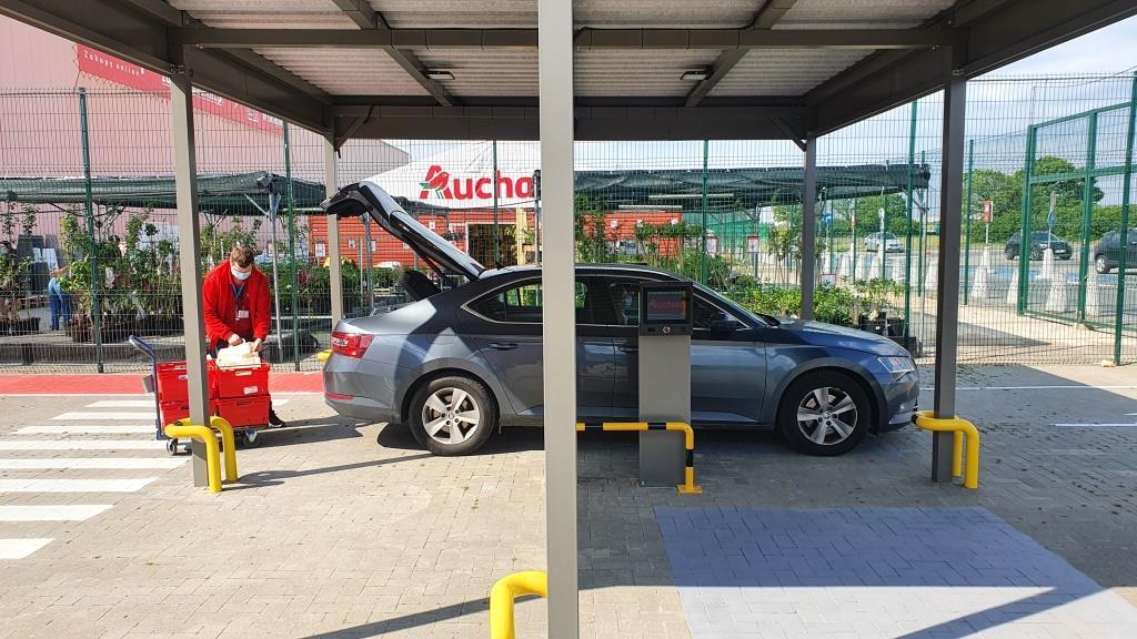 Auchan wprowadza usługę Auchan Drive