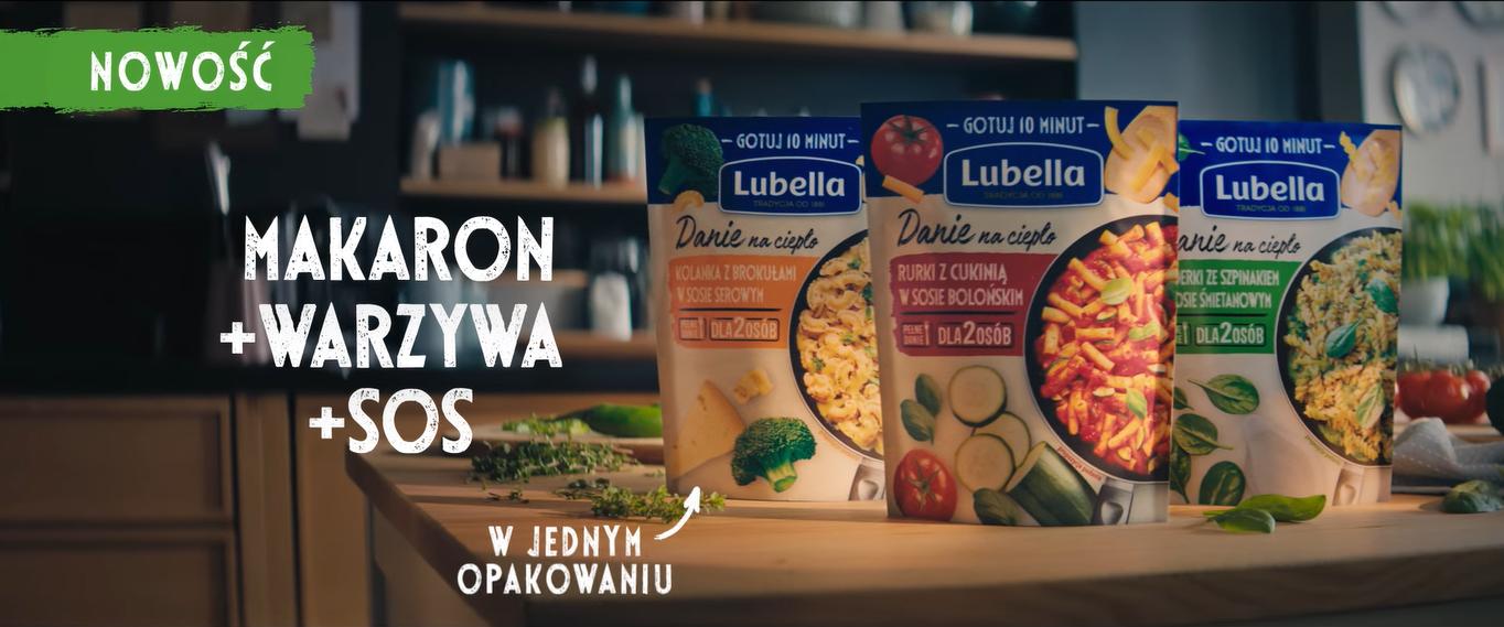 Coś ciepłego to więcej niż posiłek – kampania dla nowości Lubella Danie na ciepło