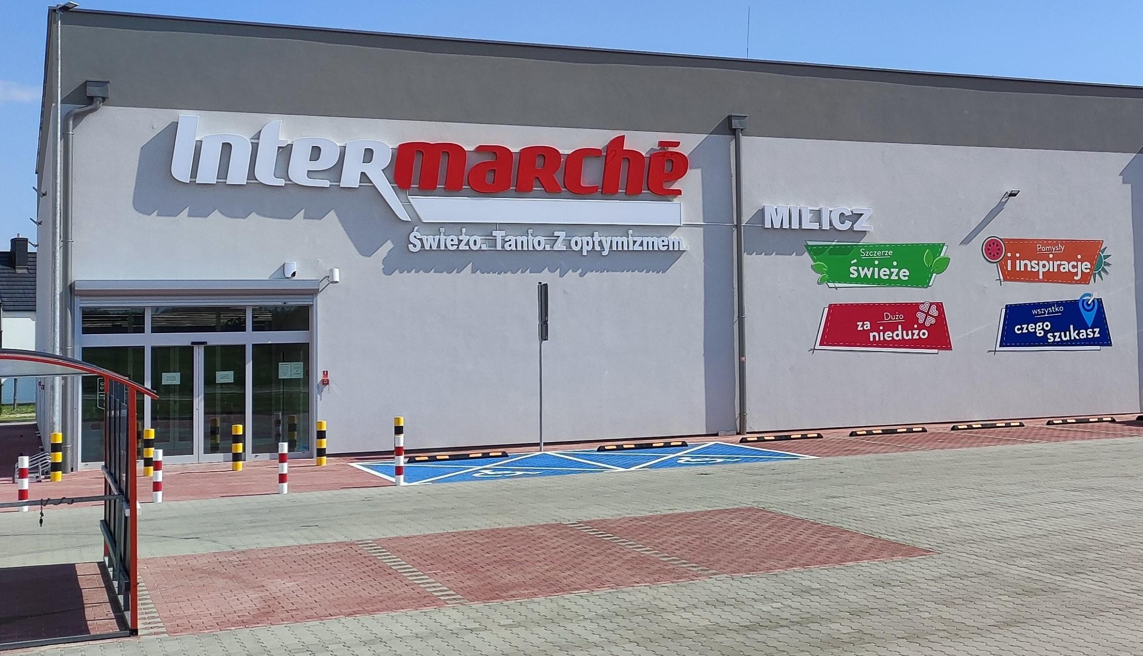 Muszkieterowie otwierają sklep Intermarché w Miliczu