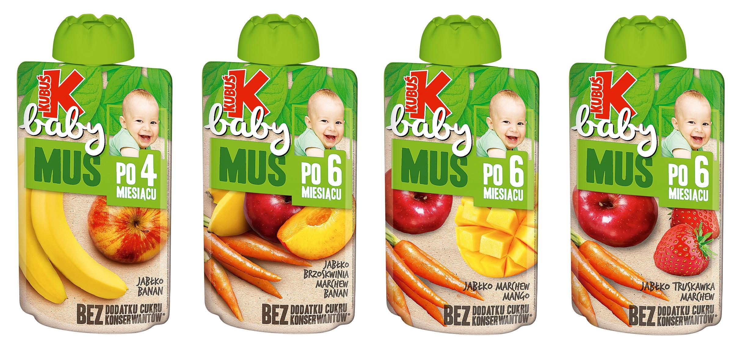 Kubuś Baby – najlepsze smaki dla najmłodszych