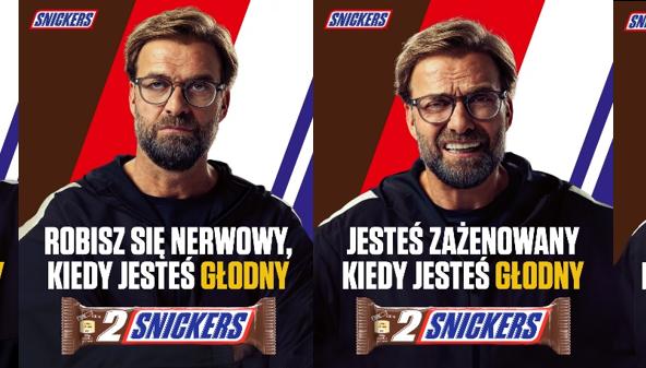 Studio Snickers i Jürgen Klopp wspierają wydarzenia na boisku