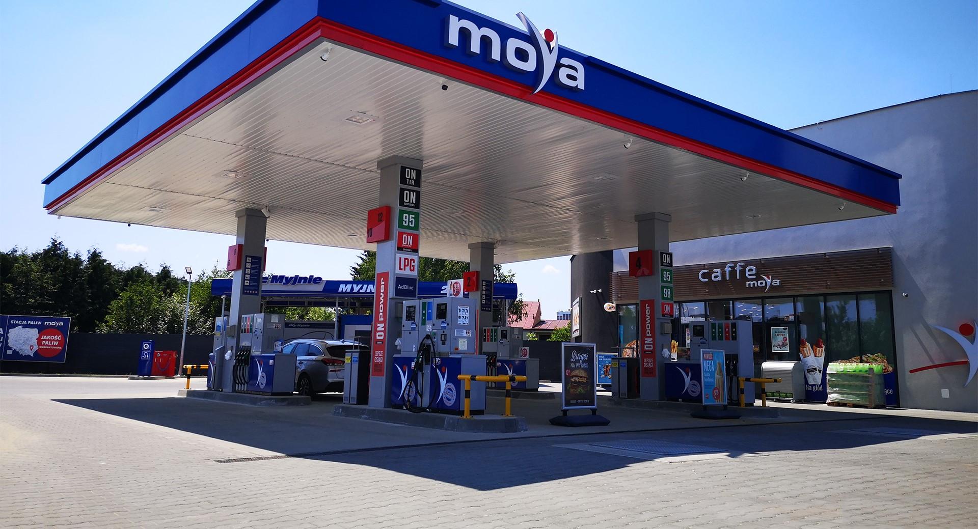 Jubileuszowa stacja sieci Moya w Rzeszowie