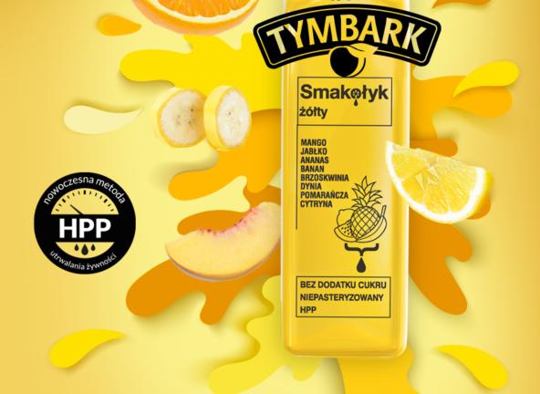 Smakołyk – innowacyjna nowość HPP od Tymbarku