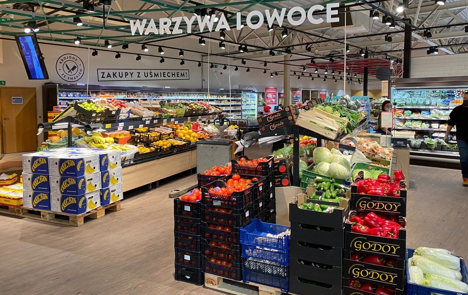 Sklep Intermarché w Oleśnicy otwarty w nowym koncepcie