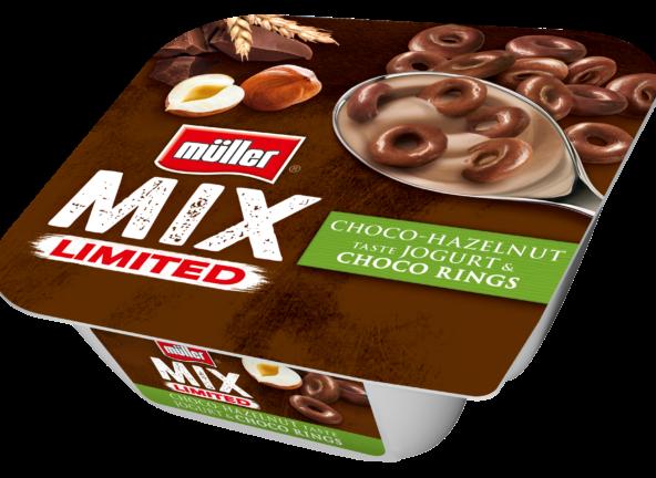 Kusząco czekoladowy Mix od Müllera