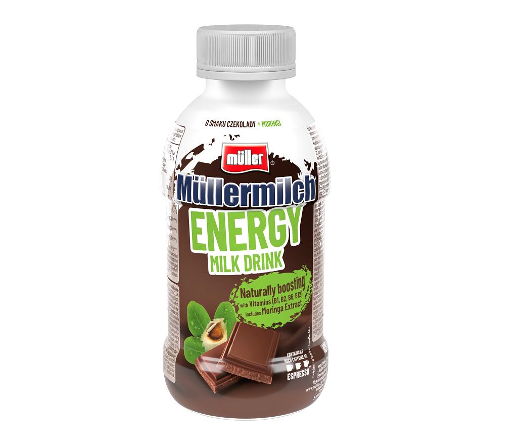 Müllermilch Energy – energia pełna smaku i witamin