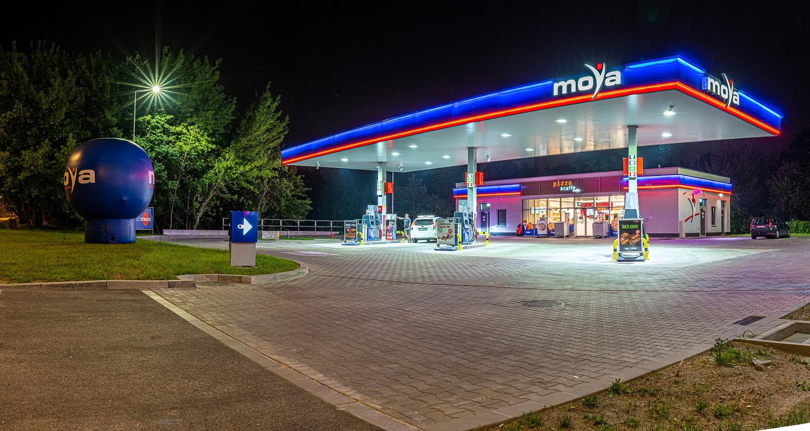 W Łodzi została otwarta siódma stacja paliw Moya