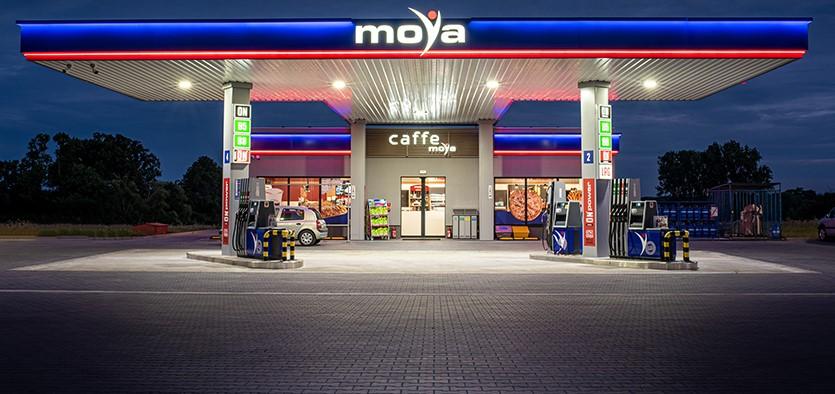 Nowa stacja paliw Moya w Konstantynowie Łódzkim