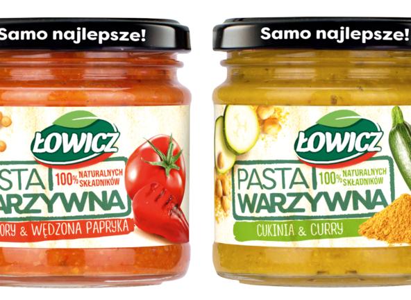 Warzywa na nowo – pasty Łowicz