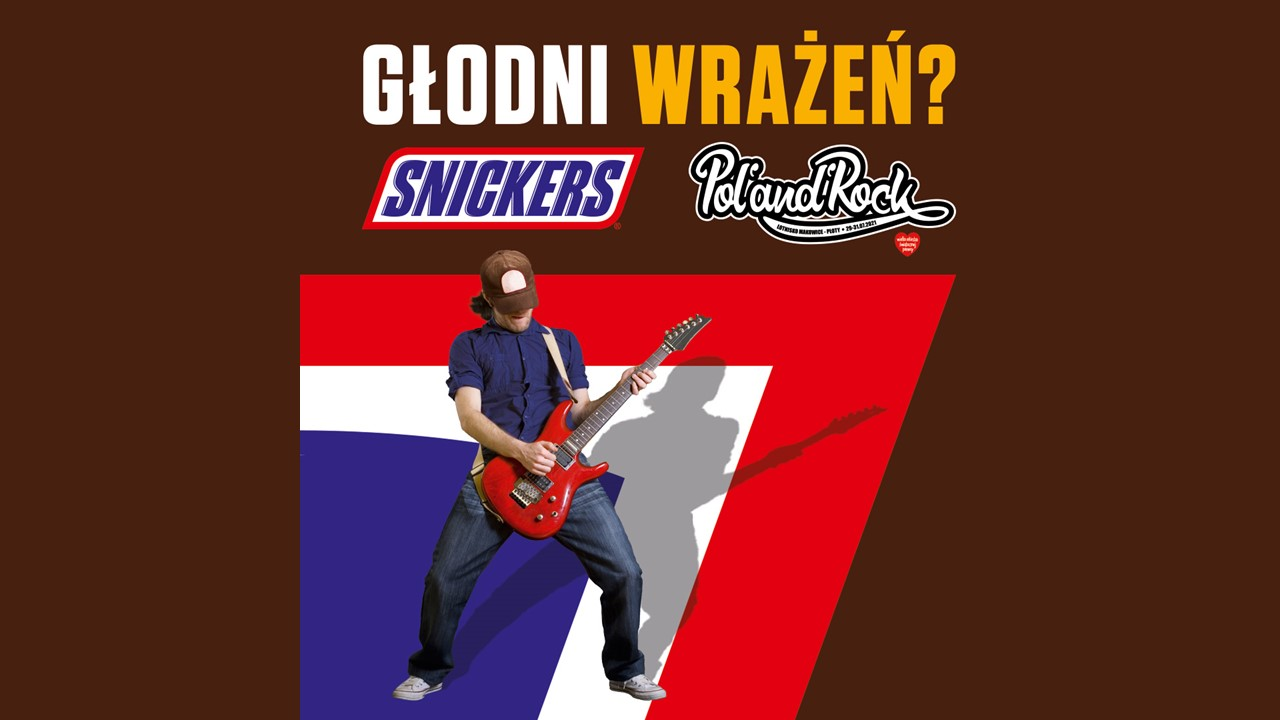 Snickers na Pol'and'Rock Festival 2021