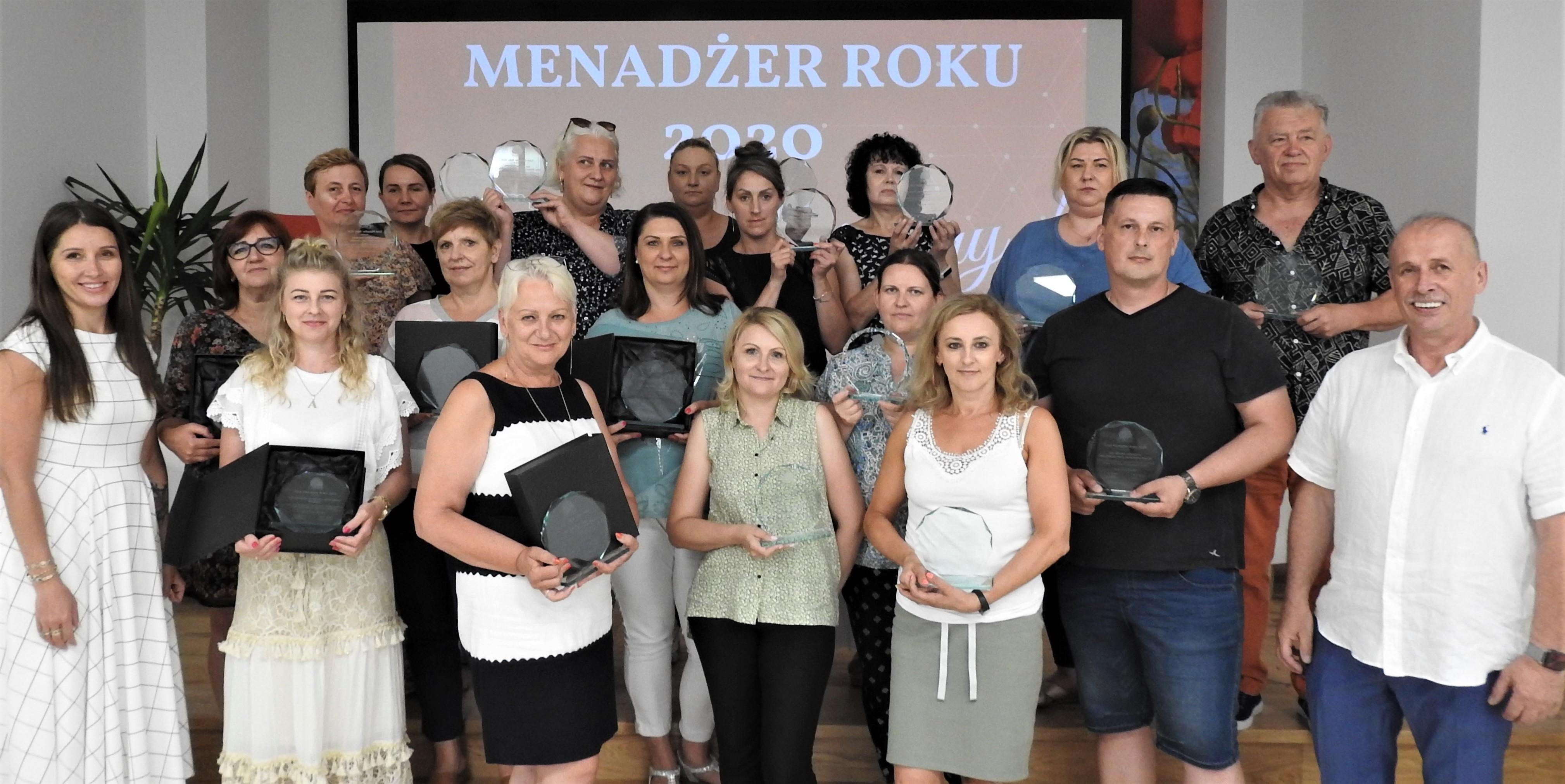 Grupa Chorten przyznała tytuły Partnera Roku i Menadżera Roku