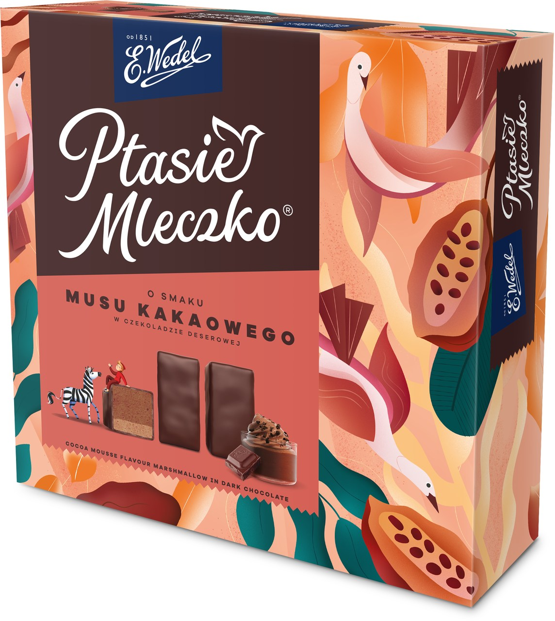 Limitowane Ptasie Mleczko o smaku musu kakaowego