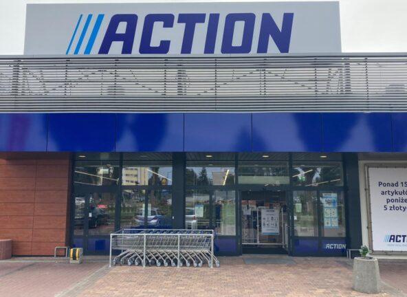 Nowy sklep Action w Warszawie
