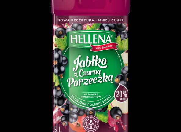 Mniej cukru, więcej soku – pełne smaku nowe napoje Hellena