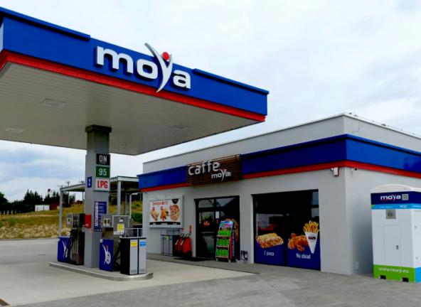 Nowa stacja paliw Moya w Ińsku