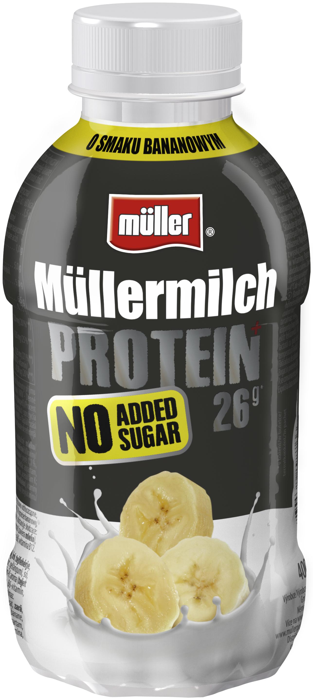 Müllermilch Protein – porcja protein bez dodatku cukru