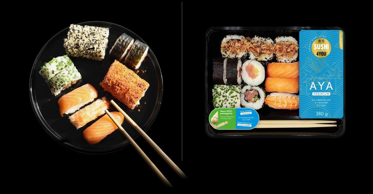 Nowe zestawy sushi w ofercie Eurocash Dystrybucja