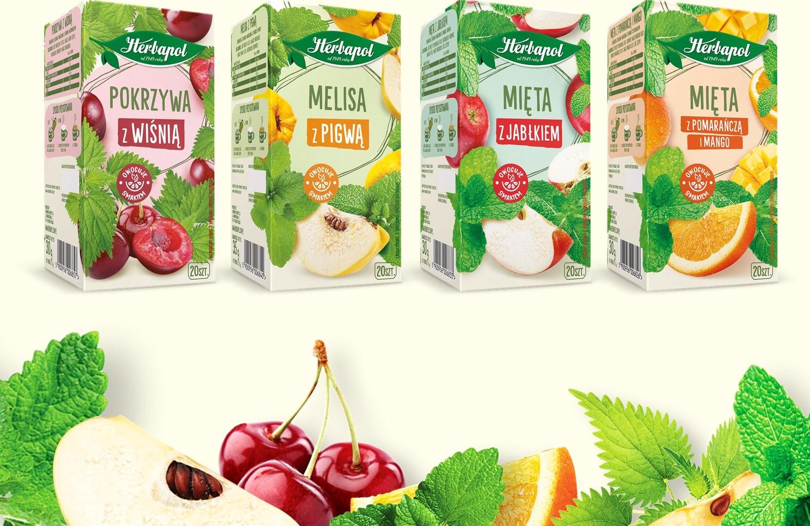 Nowość – Herbatki ziołowo-owocowe od Herbapolu