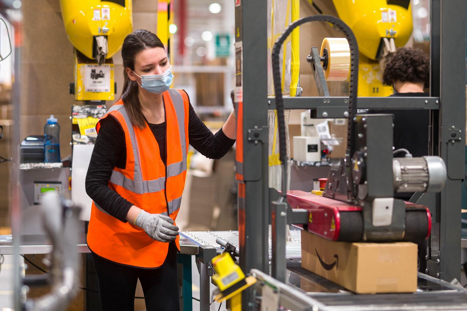 Amazon zatrudni ponad 9 000 pracowników sezonowych na okres przedświąteczny