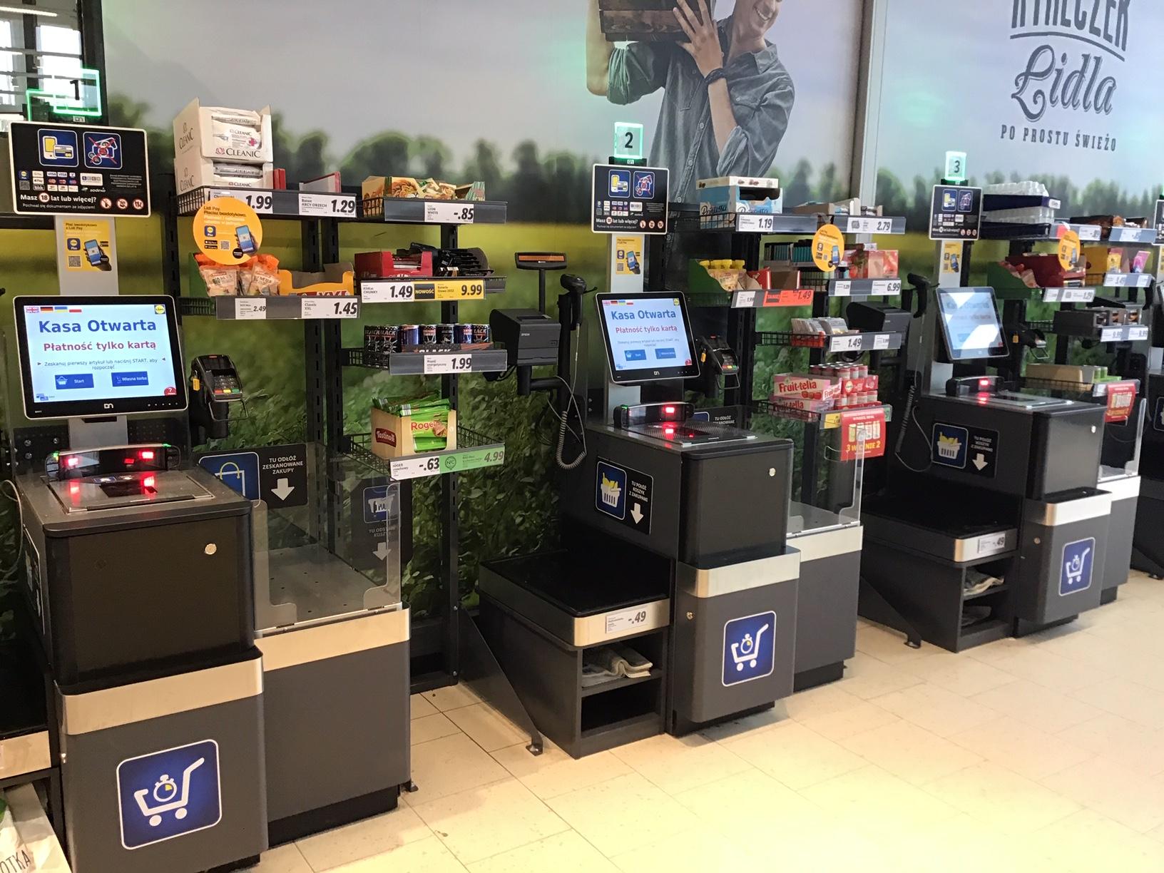 3000 kas samoobsługowych w sklepach Lidl Polska