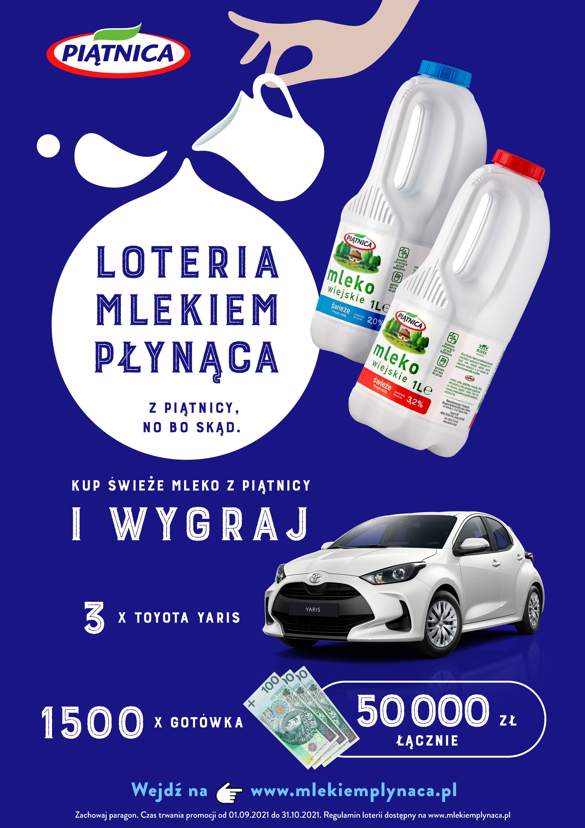 """Startuje """"Loteria mlekiem płynąca"""" OSM Piątnica"""