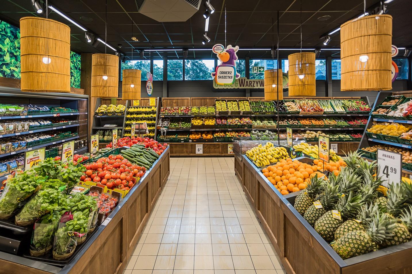 Nowy market Netto w Galerii Solnej