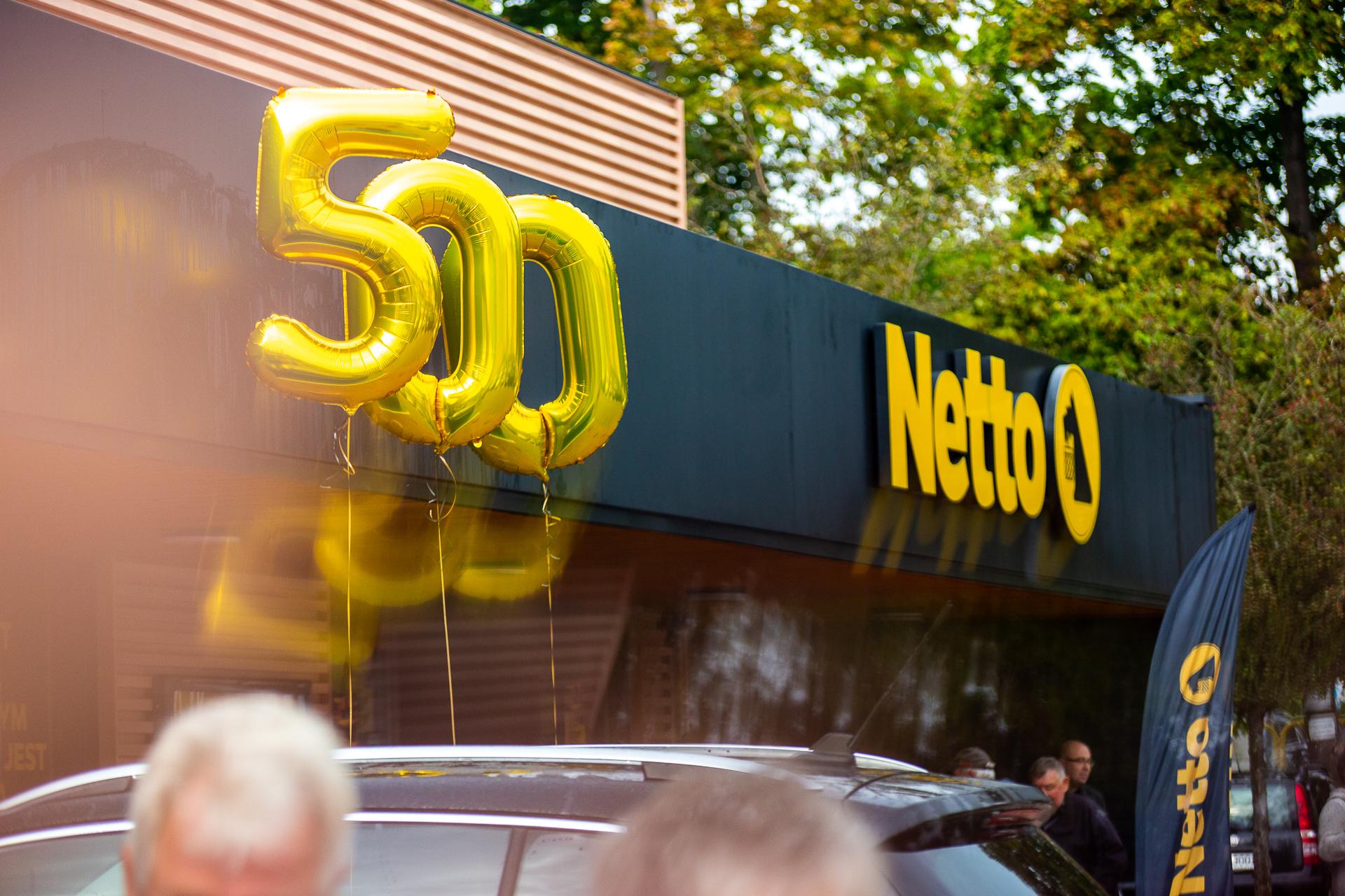 500 sklepów Netto w Polsce