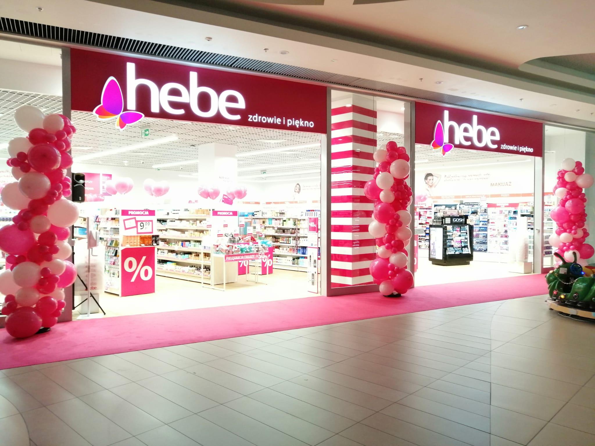 Otwarcie nowej drogerii Hebe w Rzeszowie