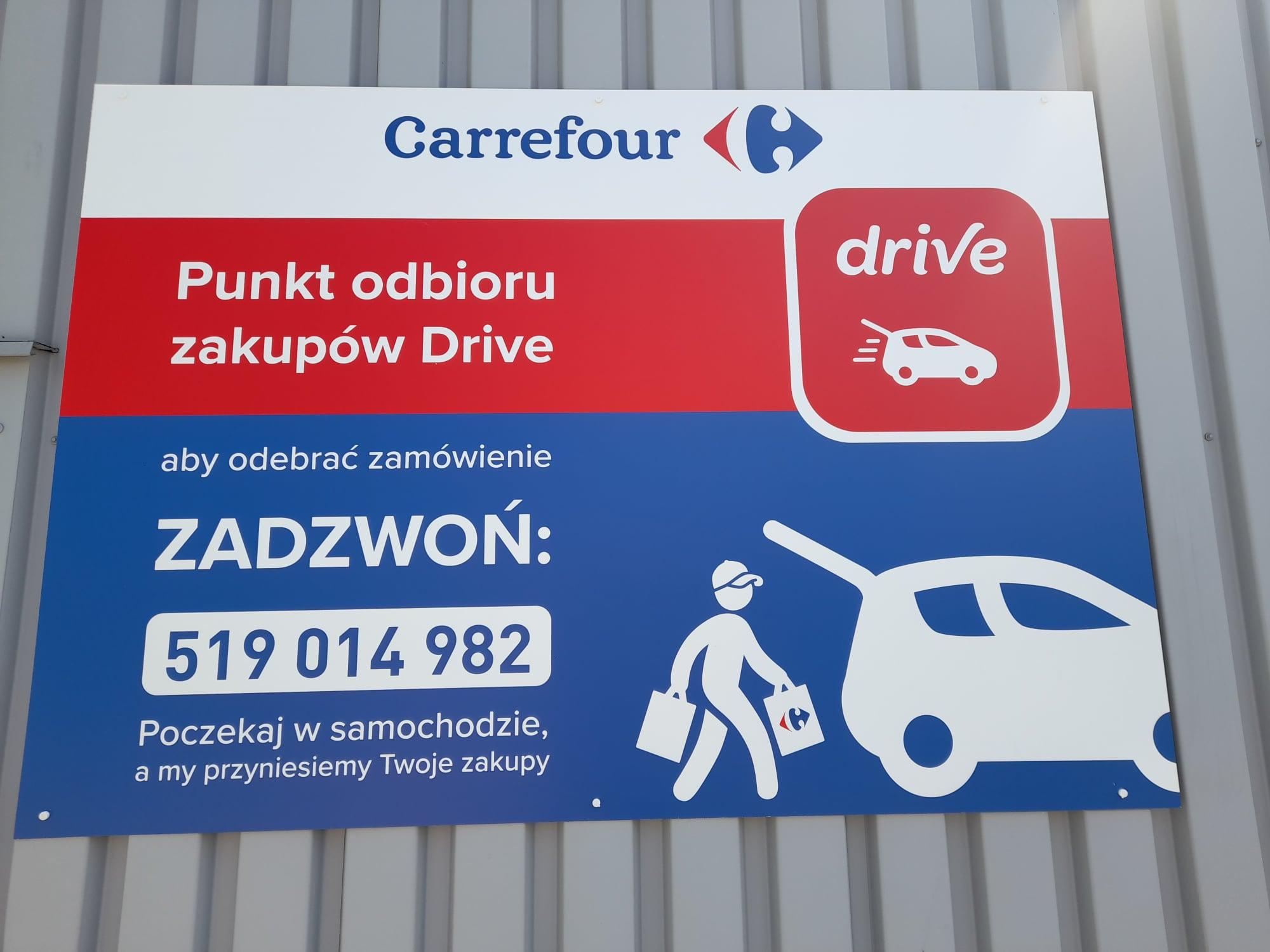 Carrefour rozszerzył usługę Carrefour Drive o ponad 50 punktów odbioru