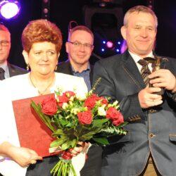 Wspomnień czar: Wanda i Henryk Grześkowiak z nagrodą Hermesa w kategorii Handel Detaliczny z tradycjami w 2014 roku
