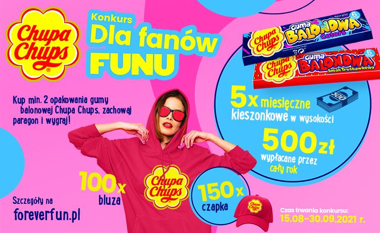 Konkurs od Chupa Chups dla fanów FUNU