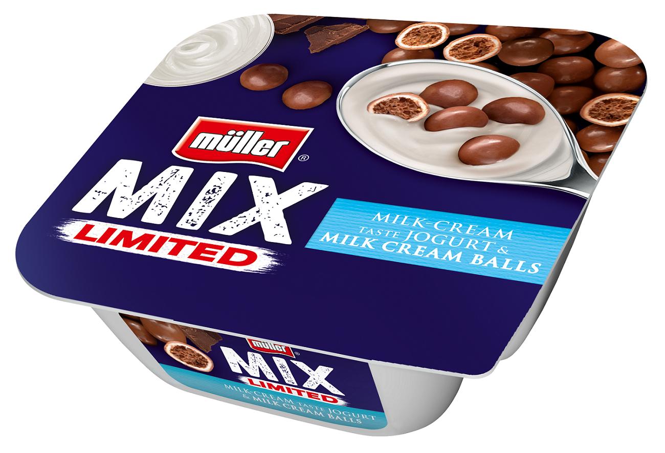 Wyjątkowo kremowa edycja limitowana Müller MIX
